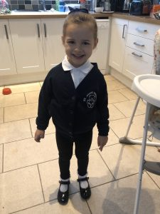 Nursery uniform girl